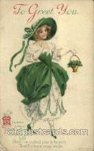 hol070438 - Artist Ellen Clapsaddle, St. Patricks Day, Postcards Post Card