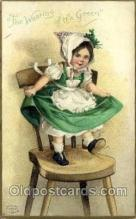 hol070439 - Artist Ellen Clapsaddle, St. Patricks Day, Postcards Post Card
