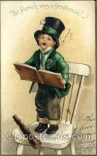 hol070440 - Artist Ellen Clapsaddle, St. Patricks Day, Postcards Post Card
