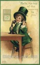 hol070442 - Artist Ellen Clapsaddle, St. Patricks Day, Postcards Post Card