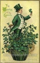 hol070444 - Artist Ellen Clapsaddle, St. Patricks Day, Postcards Post Card