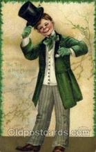 hol070445 - Artist Ellen Clapsaddle, St. Patricks Day, Postcards Post Card