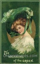 hol070447 - Artist Ellen Clapsaddle, St. Patricks Day, Postcards Post Card