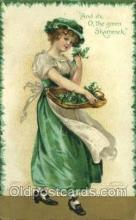 hol070448 - Artist Ellen Clapsaddle, St. Patricks Day, Postcards Post Card