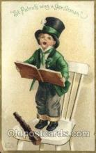 hol070455 - Artist Ellen Clapsaddle, St. Patricks Day, Postcards Post Card