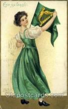 hol070457 - Artist Ellen Clapsaddle, St. Patricks Day, Postcards Post Card