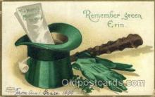 hol070463 - Artist Ellen Clapsaddle, St. Patricks Day, Postcards Post Card
