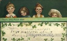 hol070474 - Artist Ellen Clapsaddle, St. Patricks Day, Postcards Post Card