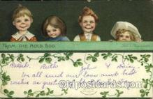 hol070478 - Artist Ellen Clapsaddle, St. Patricks Day, Postcards Post Card