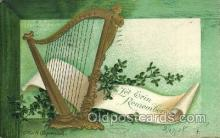 hol070480 - Artist Ellen Clapsaddle, St. Patricks Day, Postcards Post Card