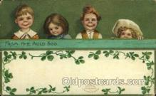 hol070482 - Artist Ellen Clapsaddle, St. Patricks Day, Postcards Post Card