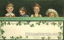 hol070483 - Artist Ellen Clapsaddle, St. Patricks Day, Postcards Post Card