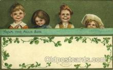 hol070488 - Artist Ellen Clapsaddle, St. Patricks Day, Postcards Post Card