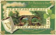 hol070496 - St. Patrick's Day, Saint Patrick Day Postcard Post Cards