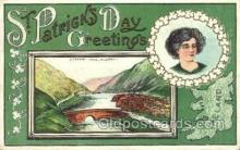 hol070497 - St. Patrick's Day, Saint Patrick Day Postcard Post Cards