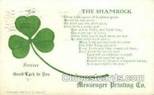 hol070498 - St. Patrick's Day, Saint Patrick Day Postcard Post Cards