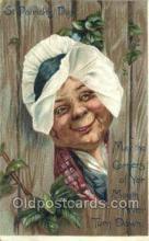hol070515 - Tuck's, Artist Brundage, St. Patrick's Day,  Saint Patrick Day Postcard Post Cards