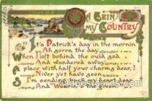 hol070525 - St. Patrick's Day, Saint Patrick Day Postcard Post Cards