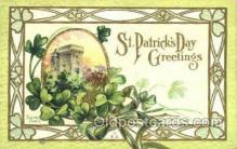 hol070537 - St. Patrick's Day, Saint Patrick Day Postcard Post Cards