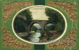 hol070552 - St. Patrick's Day, Saint Patrick Day Postcard Post Cards