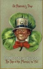 hol070553 - St. Patrick's Day, Saint Patrick Day Postcard Post Cards