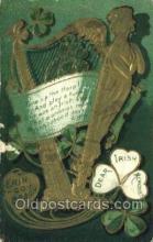 hol070562 - St. Patrick's Day, Saint Patrick Day Postcard Post Cards