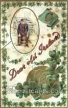 hol070563 - St. Patrick's Day, Saint Patrick Day Postcard Post Cards