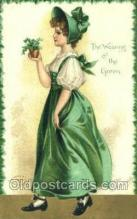 hol070570 - Artist Ellen Clapsaddle, St. Patrick's Day, Saint Patrick Day Postcard Post Cards