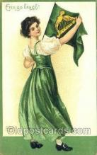 hol070571 - Artist Ellen Clapsaddle, St. Patrick's Day, Saint Patrick Day Postcard Post Cards