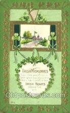 hol070574 - St. Patrick's Day, Saint Patrick Day Postcard Post Cards