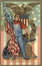 hol080002 - Artist E. Nash Labor Day Postcard Postcards
