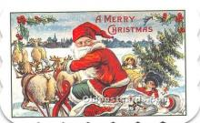 hol090010 - Christmas Holiday Postcard
