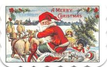 hol090011 - Christmas Holiday Postcard