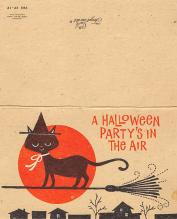 hol100025 - Halloween Postcards Old Vintage Antique Post Card