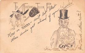 hol100123 - Halloween Postcards Old Vintage Antique Post Card