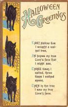 hol100151 - Halloween Postcards Old Vintage Antique Post Card