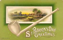 holA070014 - St Patrick's Day Greetings John Winsch St. Patrick's Day Postcard