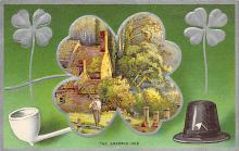 holA070034 - The Emerald Isle St. Patrick's Day Postcard