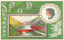 holA070052 - Greetings St. Patrick's Day Postcard