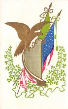 holA070063 - Eagle St. Patrick's Day Postcard