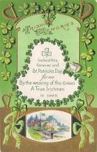 holA070079 - Irish Memories Saint Patrick's Day Postcard