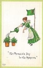 holA070095 - In the morning St. Patrick's Day Postcard