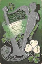 holA070099 - Dear Irish Memories St. Patrick's Day Postcard