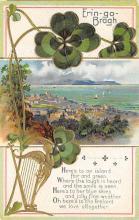 holA070100 - Erin Go Bragh St. Patrick's Day Postcard