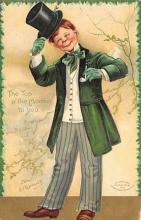 holA070122 - Ellen Clapsaddle St. Patrick's Day Postcard
