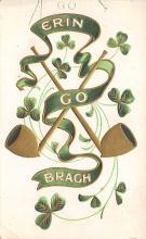 holA070128 - Erin Go Bragh St. Patrick's Day Postcard