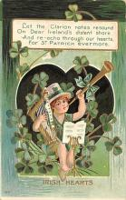 holA070143 - Irish Hearts St. Patrick's Day Postcard