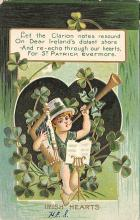 holA070144 - Irish Hearts St. Patrick's Day Postcard