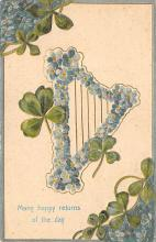 holA070145 - Many Happy Returns St. Patrick's Day Postcard