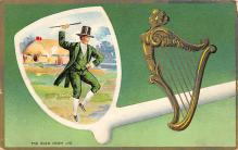holA070159 - The Old Irish Jig St. Patrick's Day Postcard